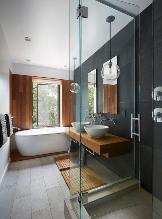 Ванная комната в интерьере минимализма
