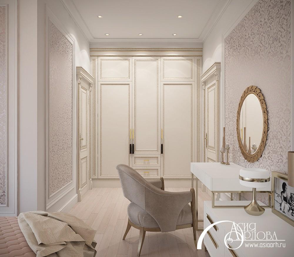 дизайн интерьера в классическом стиле, ампир, русский ампир, розовая спальня, спальня в классическом стиле, дизайн интерьер спальни